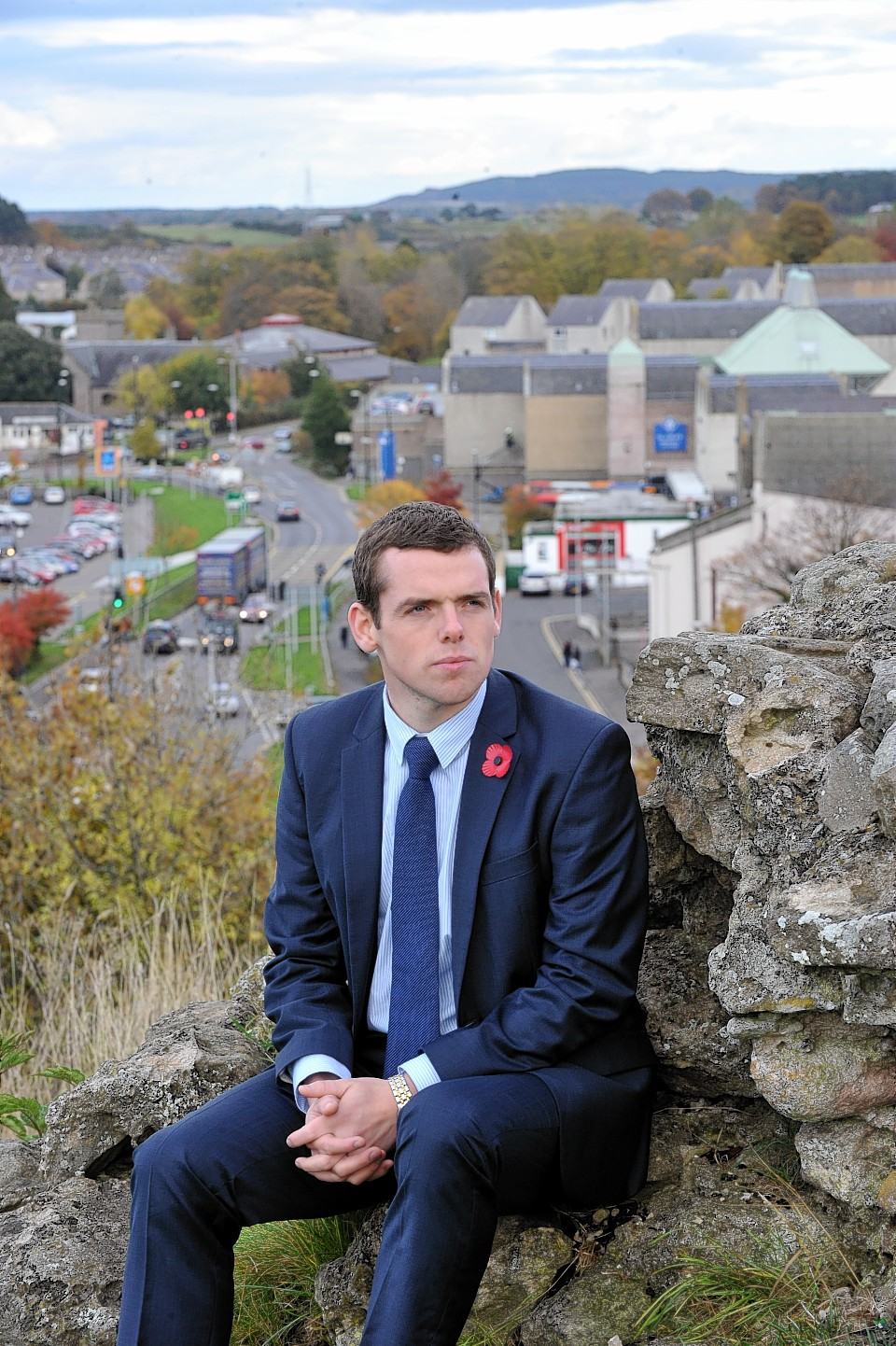 Douglas Ross on Ladyhill in Elgin