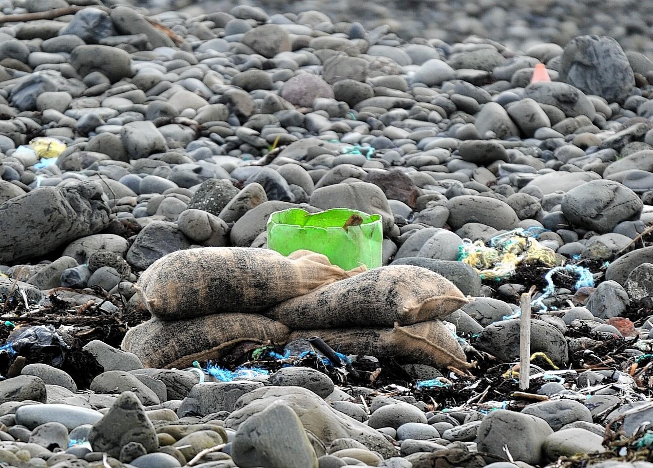 The grenade was found on Talisker Bay on Skye