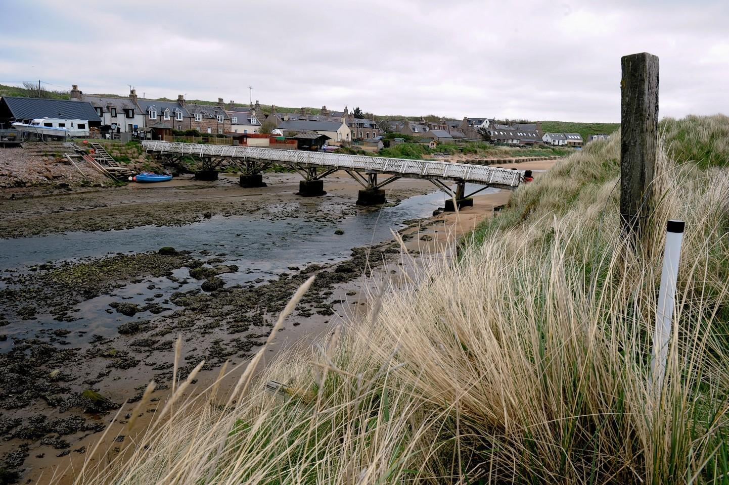 Ladies Bridge at Cruden Bay