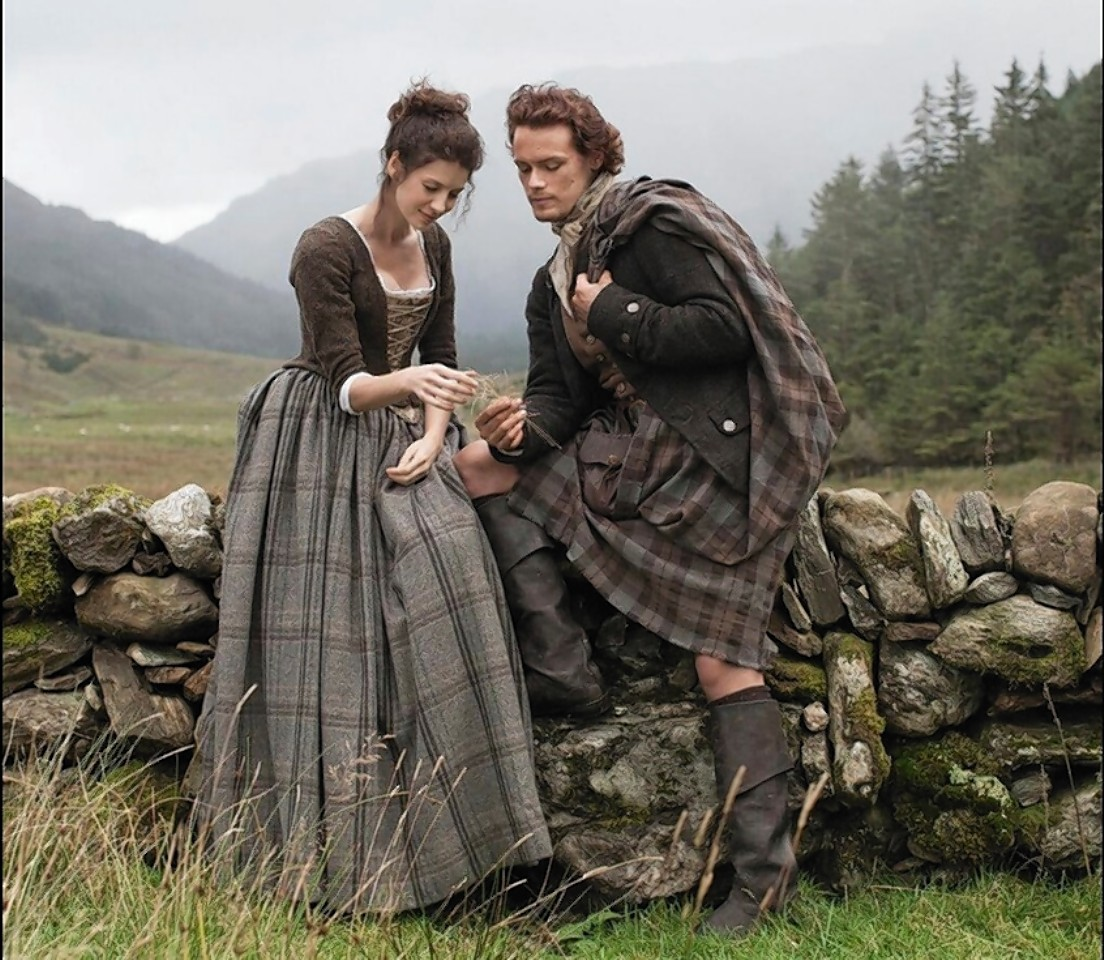 Sam Heughan and several other actors are to be sent to 'Kilt Classes'