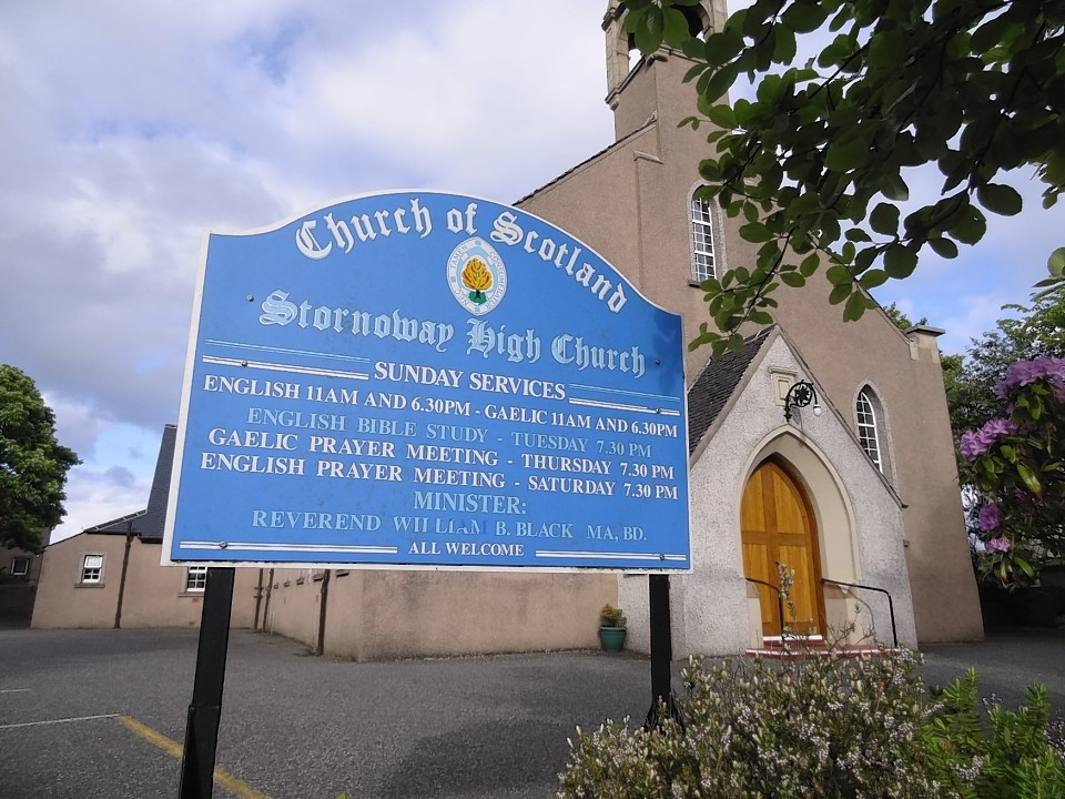 Stornoway High Church was left divided by the gay clergy debate with about 250 members leaving to join the Free Church.