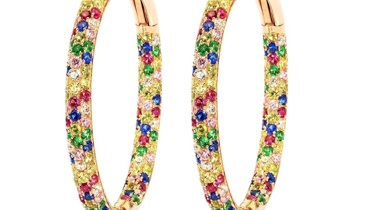 Carnation Rose Earrings £399
