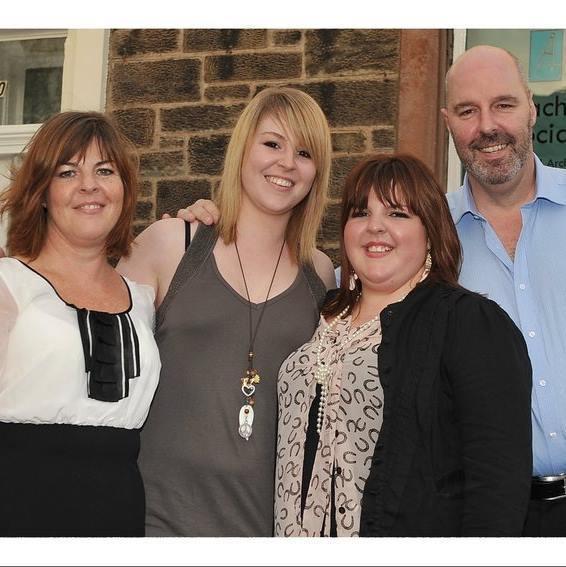 Colin Machin and family