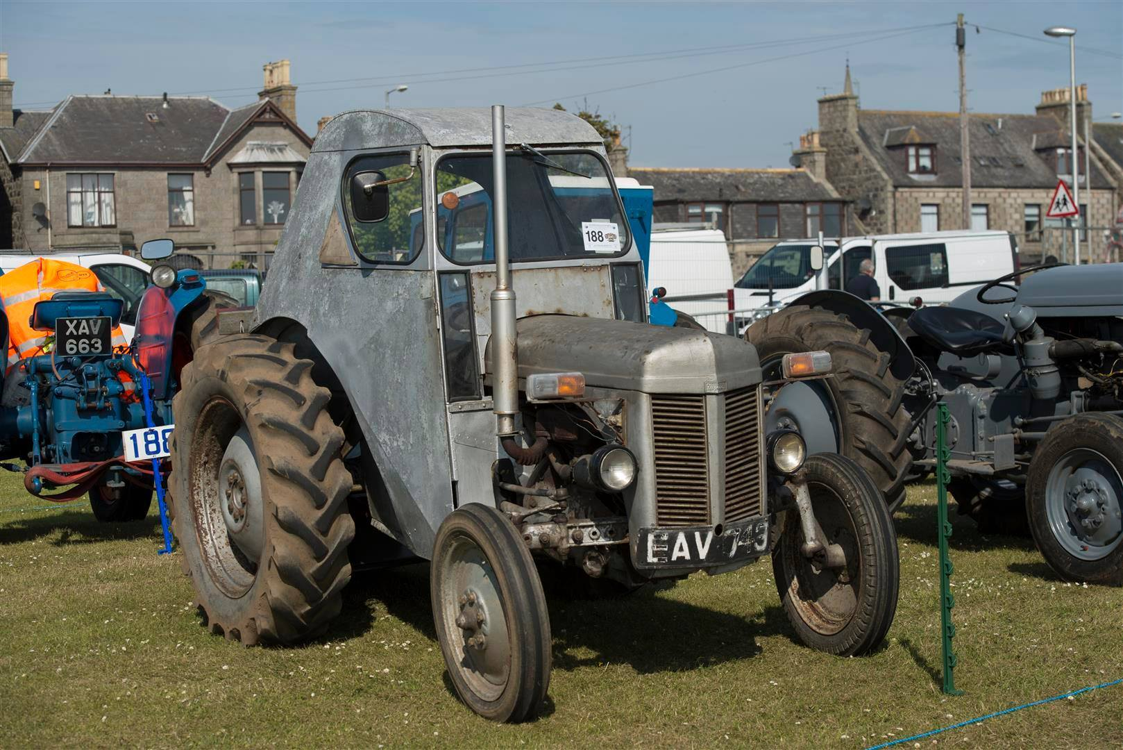 Fraserburgh vintage car rally 2014. Pictures by Stanley Wright