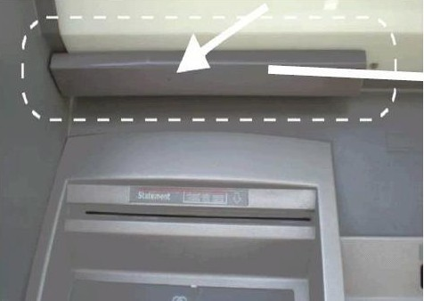 Card skimming device example