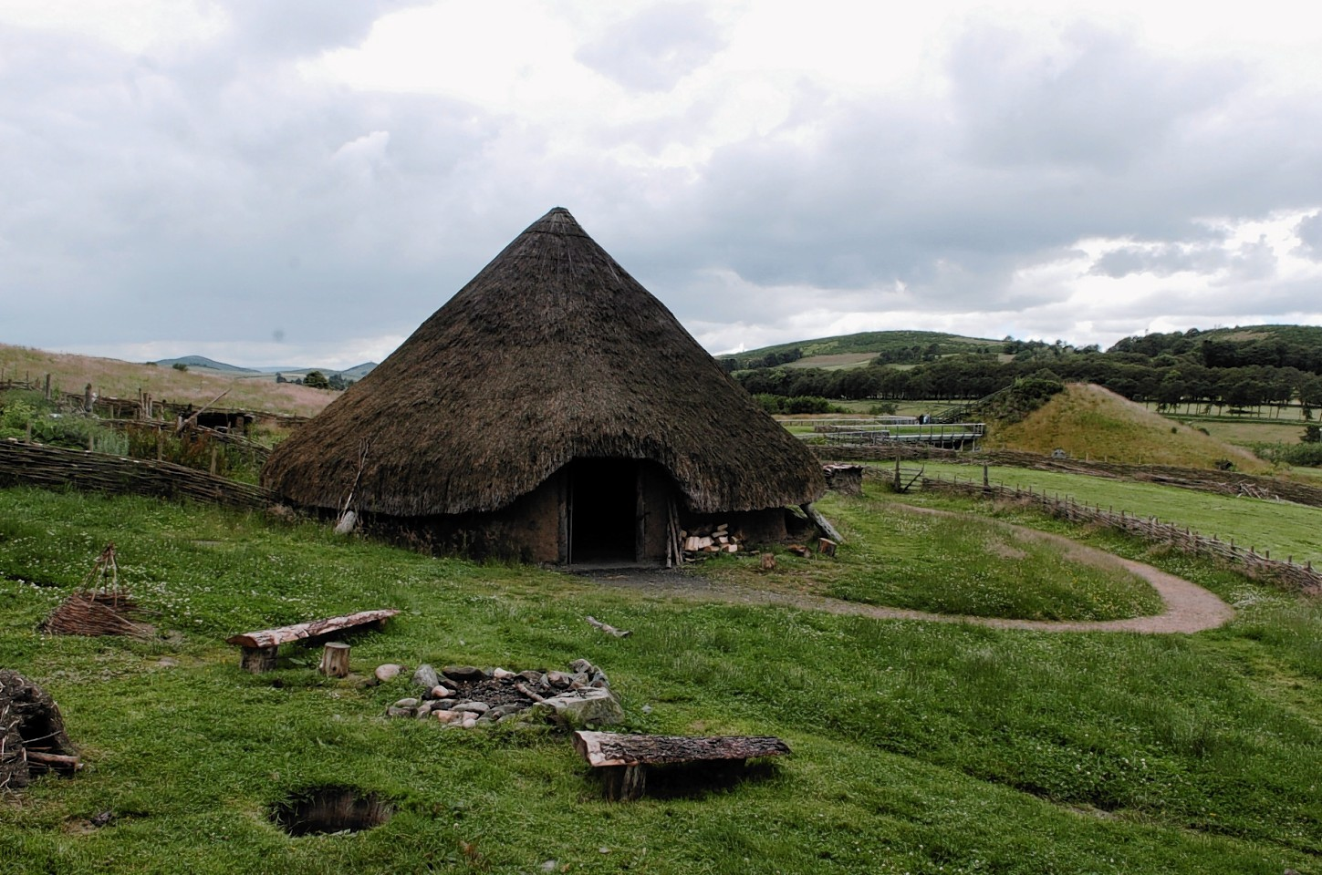 Archaeolink at Oyne has gone on the market