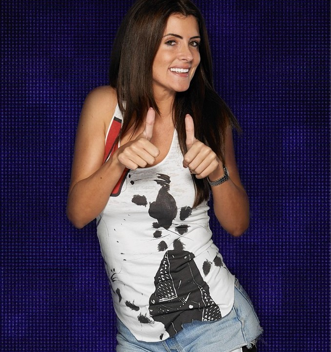 Helen Wood who is one of the 10 housemates who entered the Big Brother house