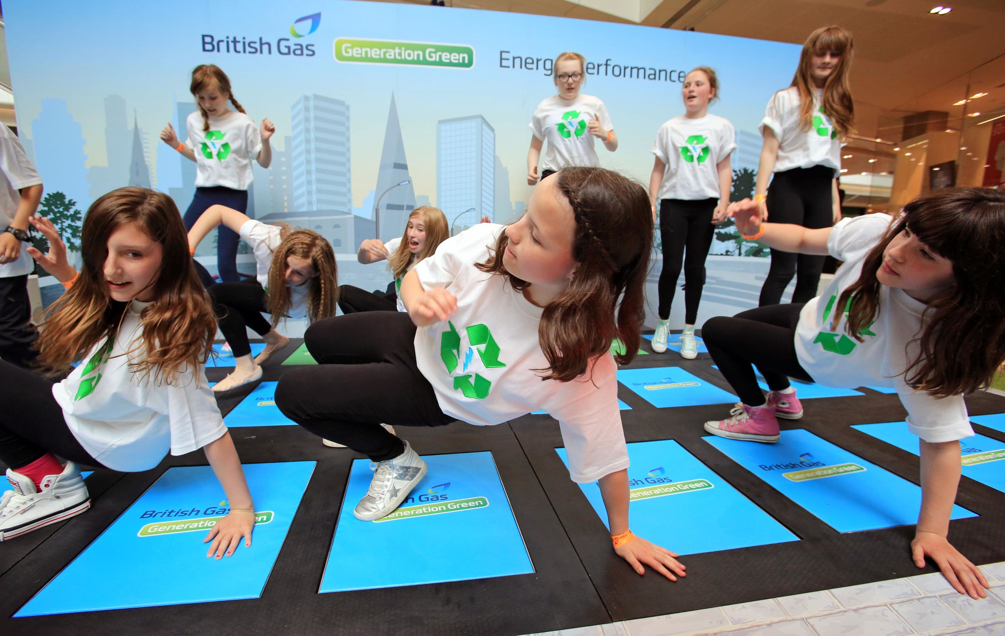 Alford Primary pupils take part in the final of the Generation Green Energy competition