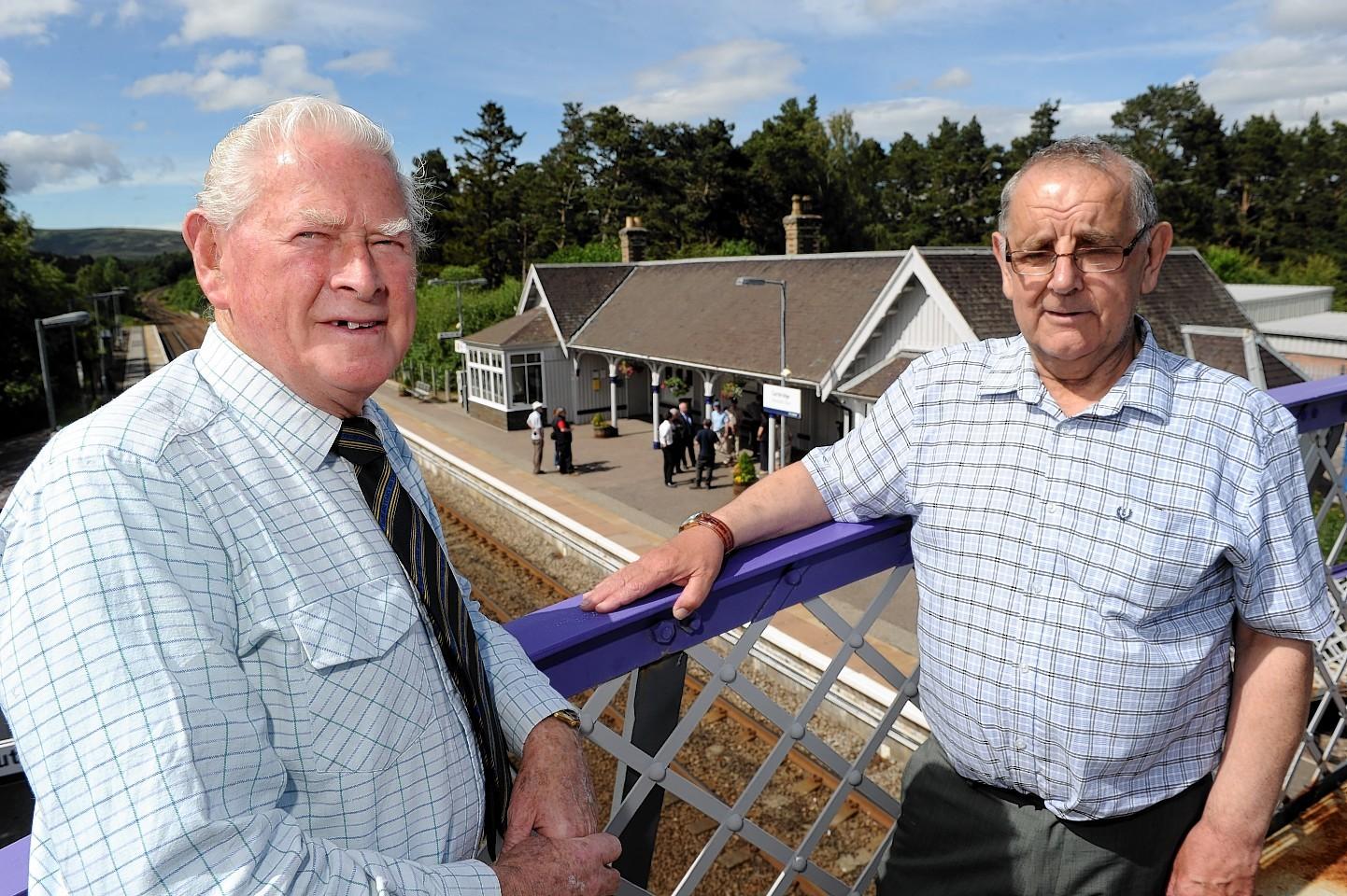 David Ritchie and Iain Dunbar