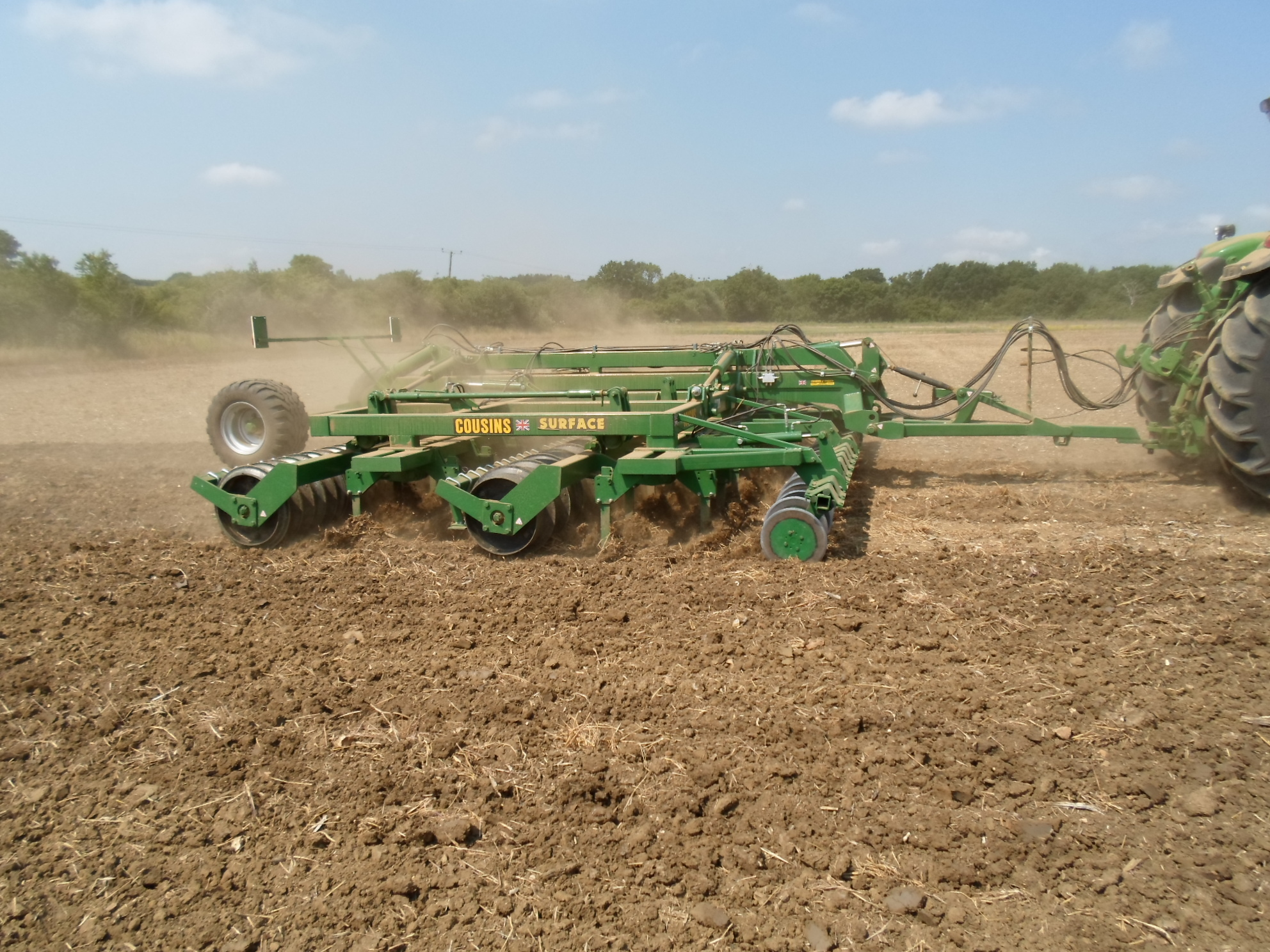 Cousins of Emneth's surface seed-bed cultivator