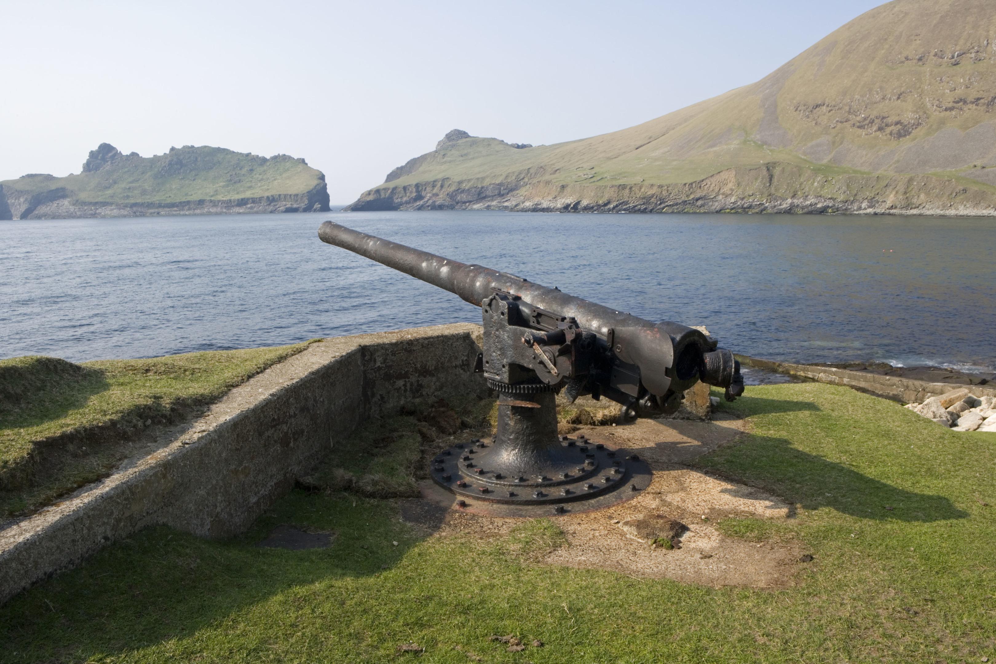 Gun emplacement at St Kilda