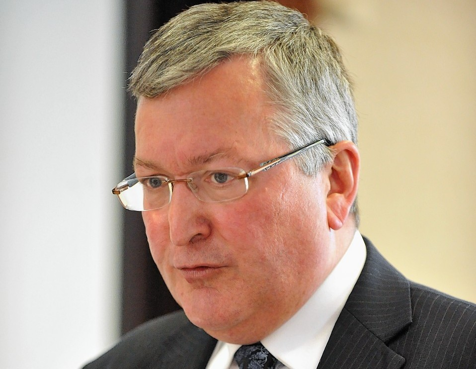 Enterprise Minister Fergus Ewing announced funding for community renewable energy projects.
