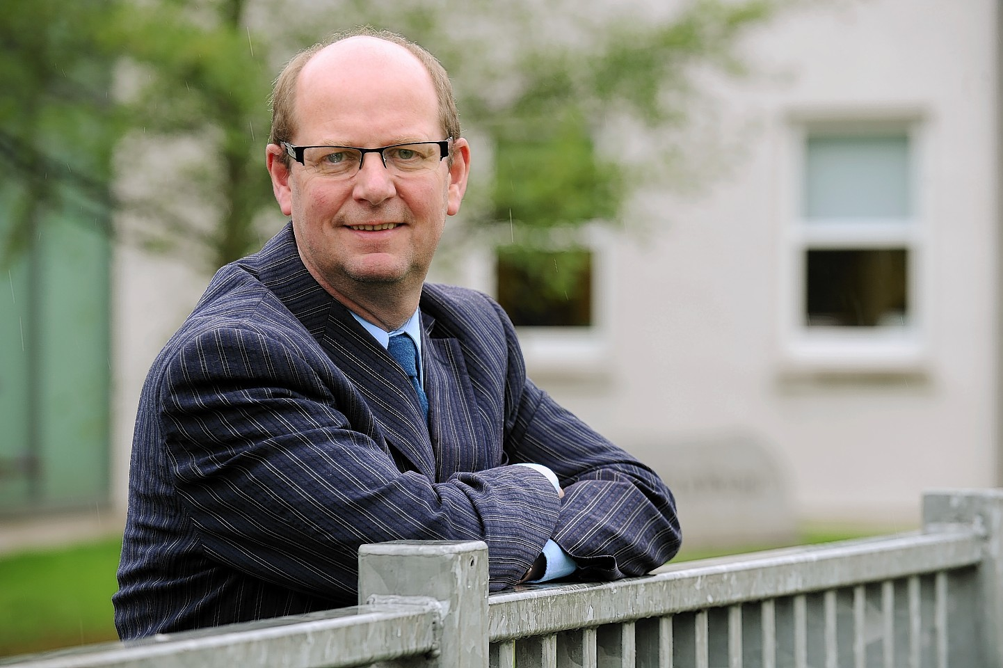 University chair Gary Coutts