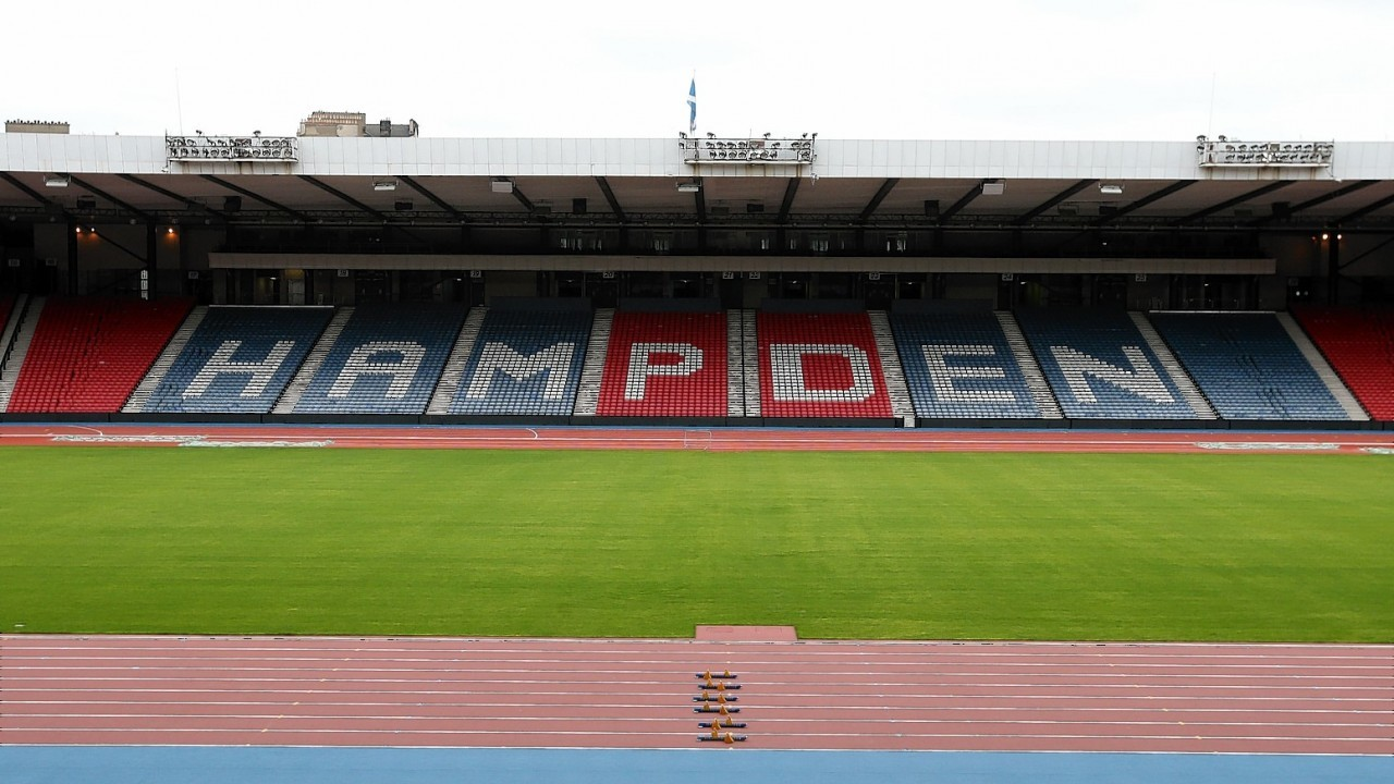 Glasgow 2014 reveal the city's new world-class athletics arena following the transformation of Hampden Park.