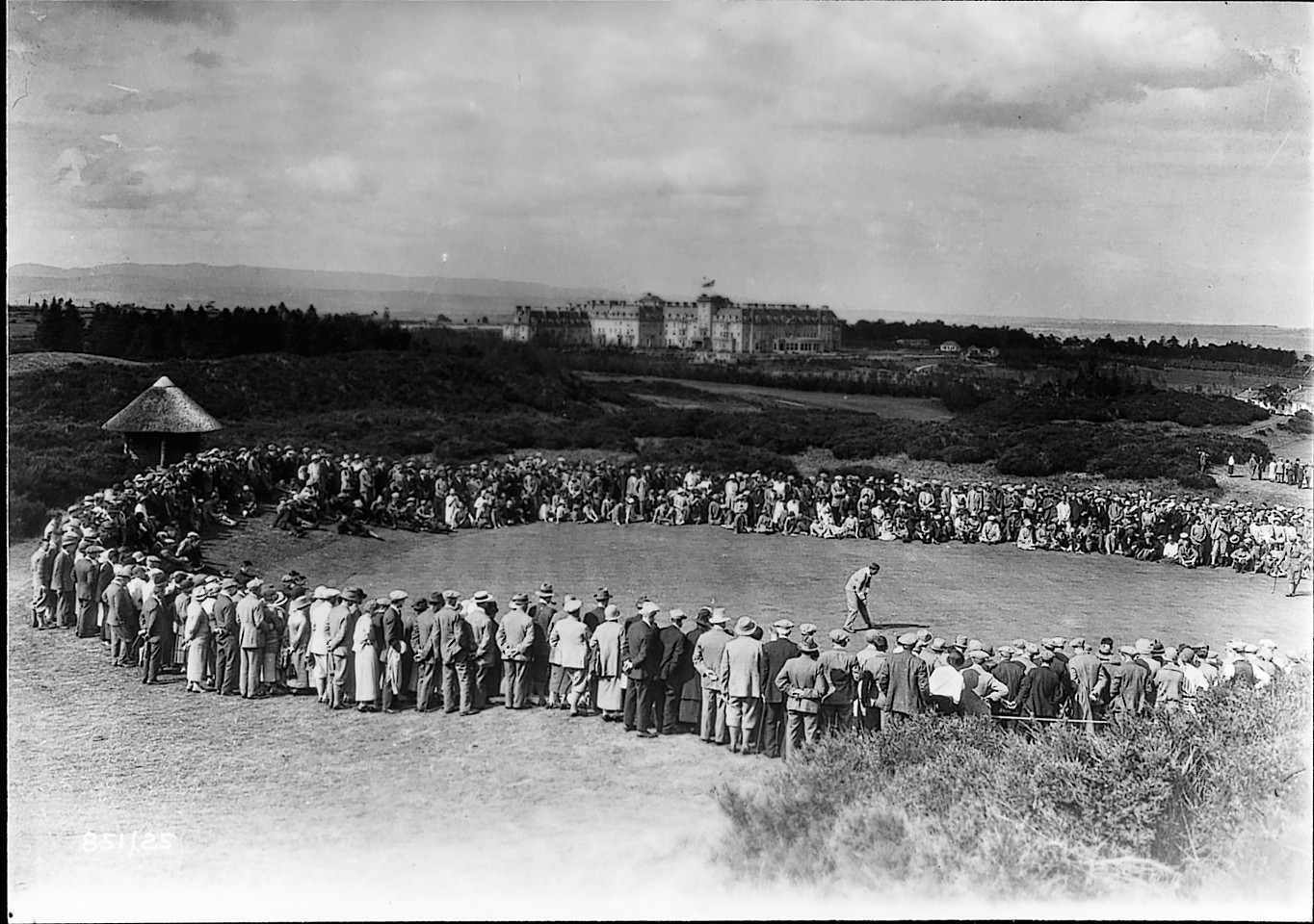 Golf at Gleneagles gets underway, 1924