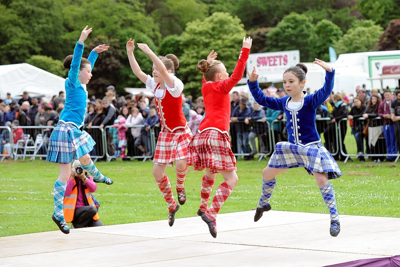 Dancers at the Aberdeen Highland Games
