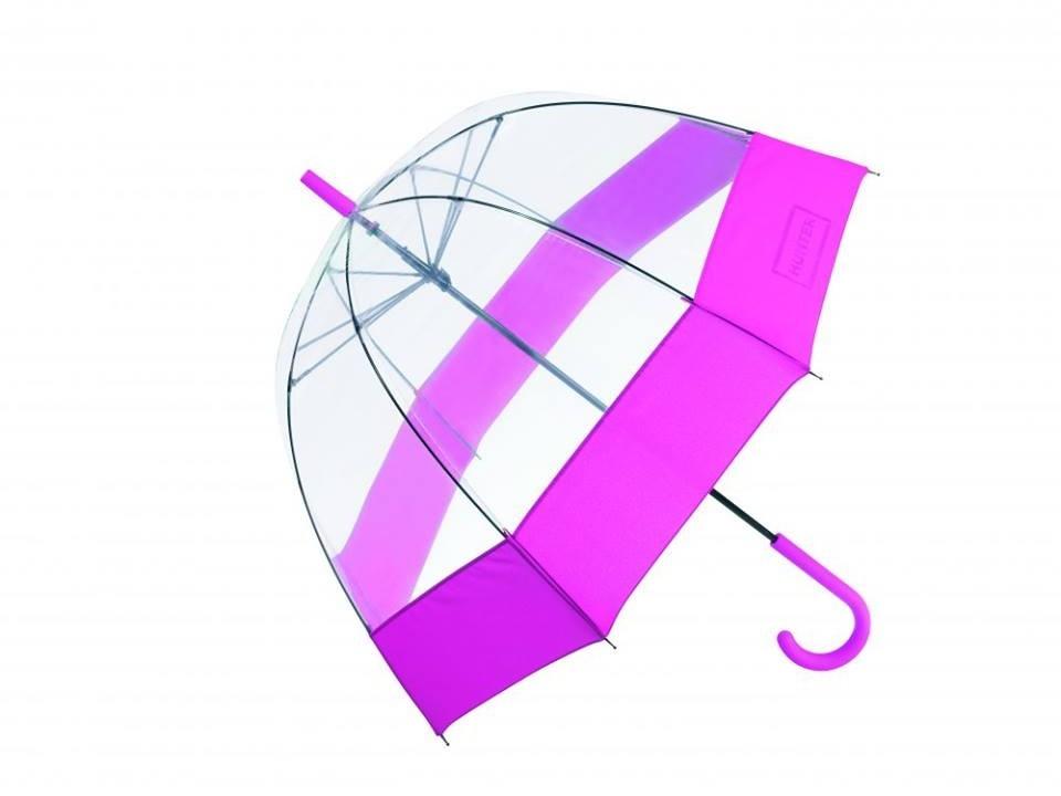 Retro-style bubble umbrella by Hunter