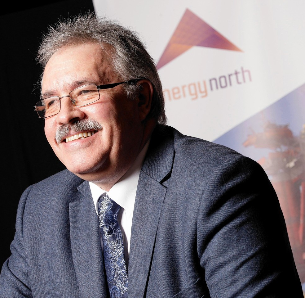 Energy North chief executive Ian Couper