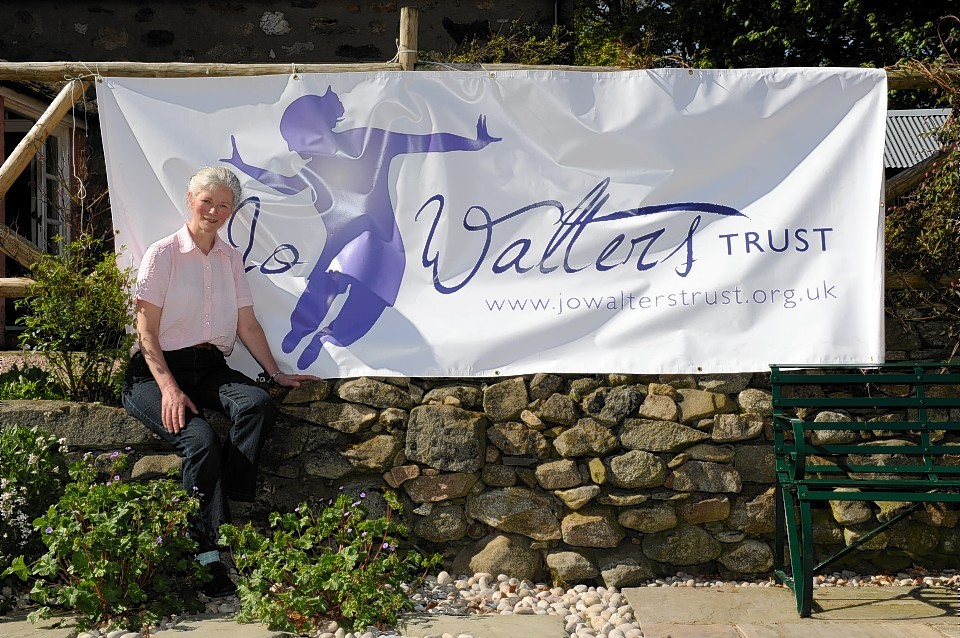 Jo Walters mother, Verity, helped launch the trust back in 2011