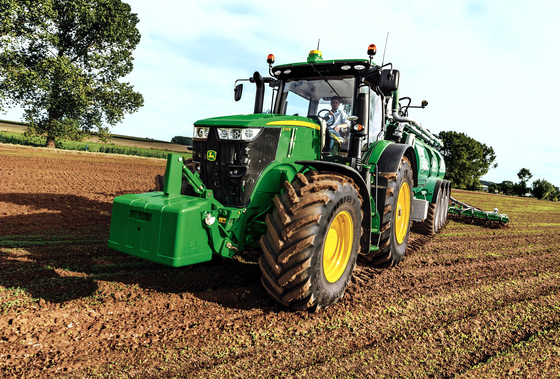 HRN Tractors is the main John Deere dealer in the north and north-east