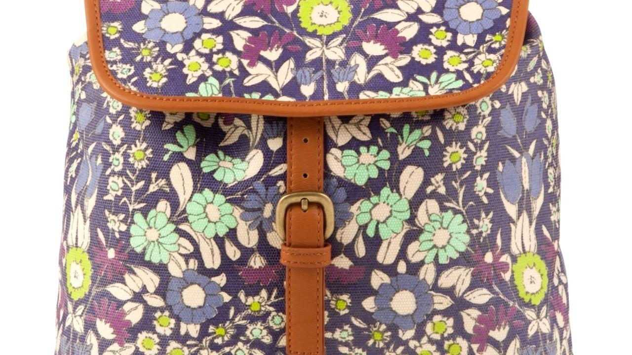 John Lewis Daisychain Print backpack