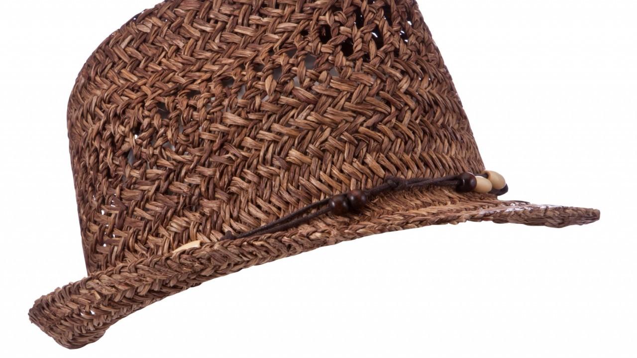 John Lewis Straw Fedora hat