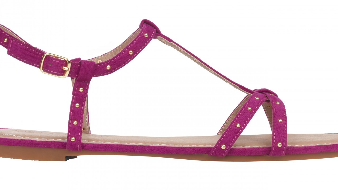 M&S Collection Studded T-Bar sandal
