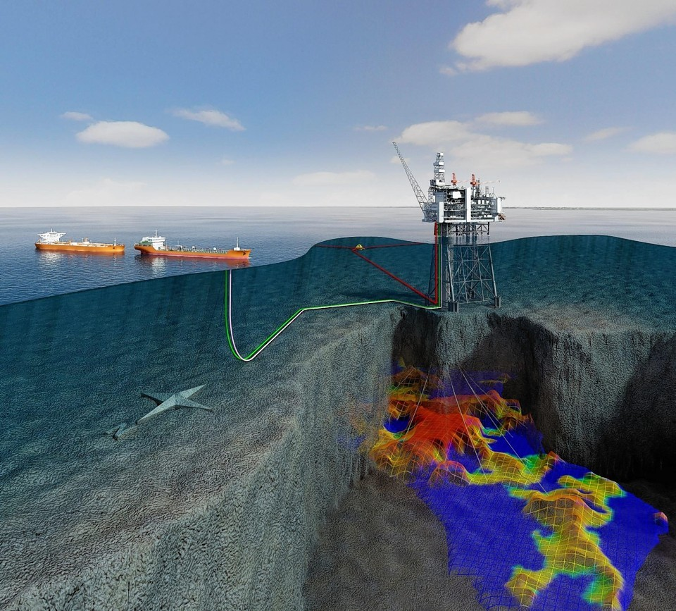 An artist's impression of Statoil's Mariner development