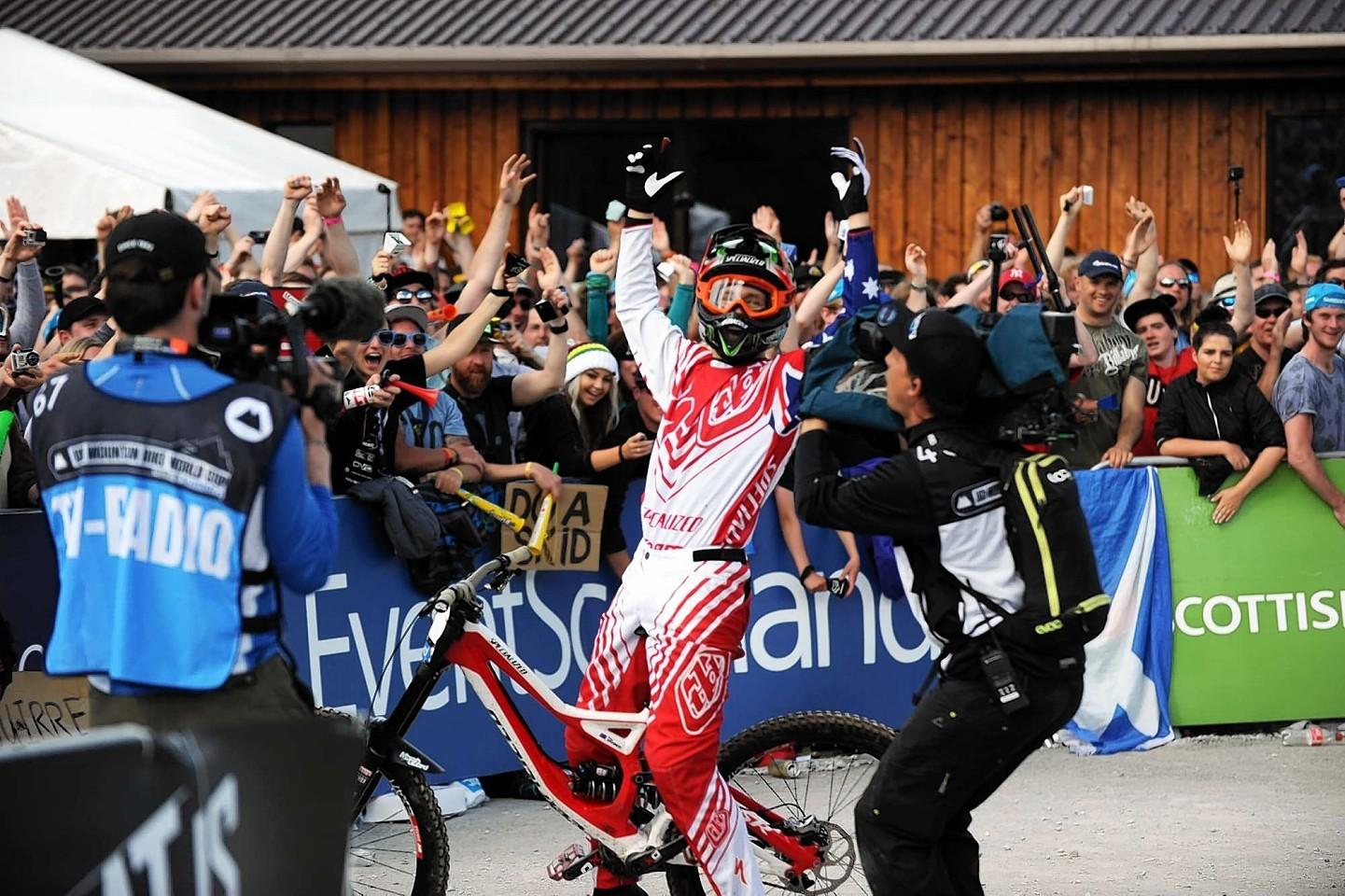 Mountain Bike World Cup winner Troy Brosnan