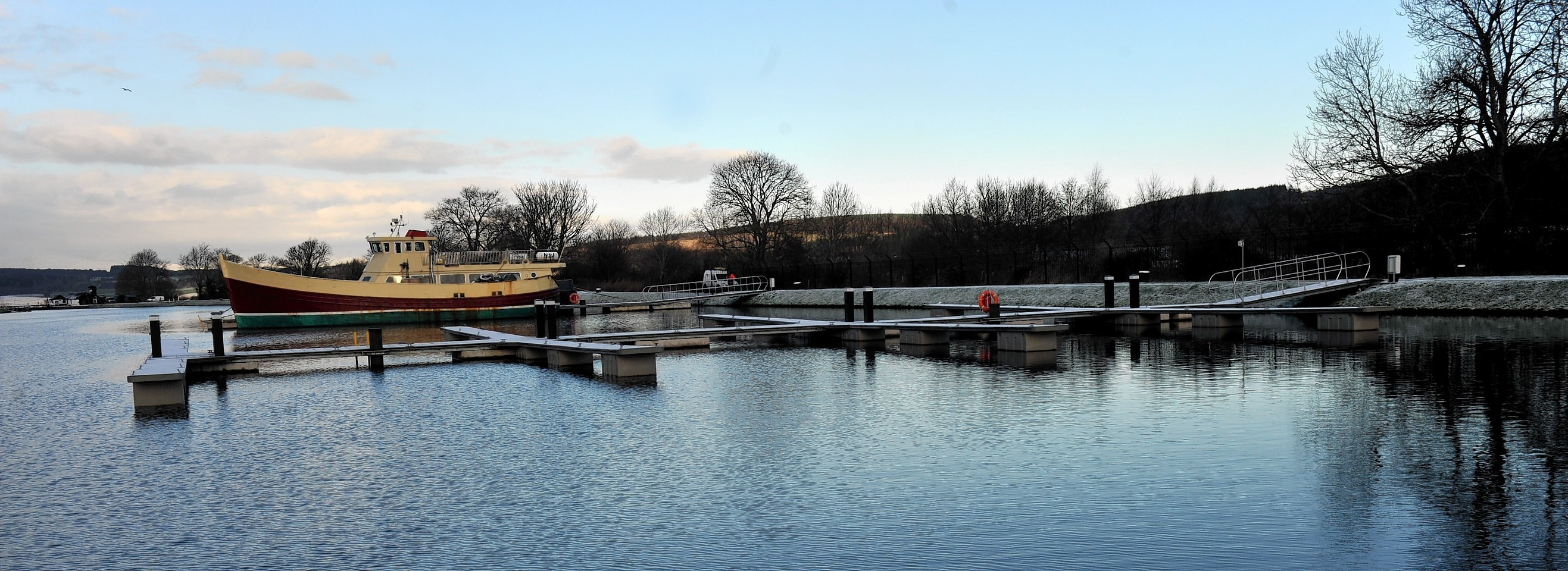 Muirtown Basin in Inverness