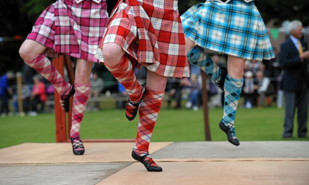 The Highland dancers fell in love with Forres after visiting during a Scottish tour in 2019.