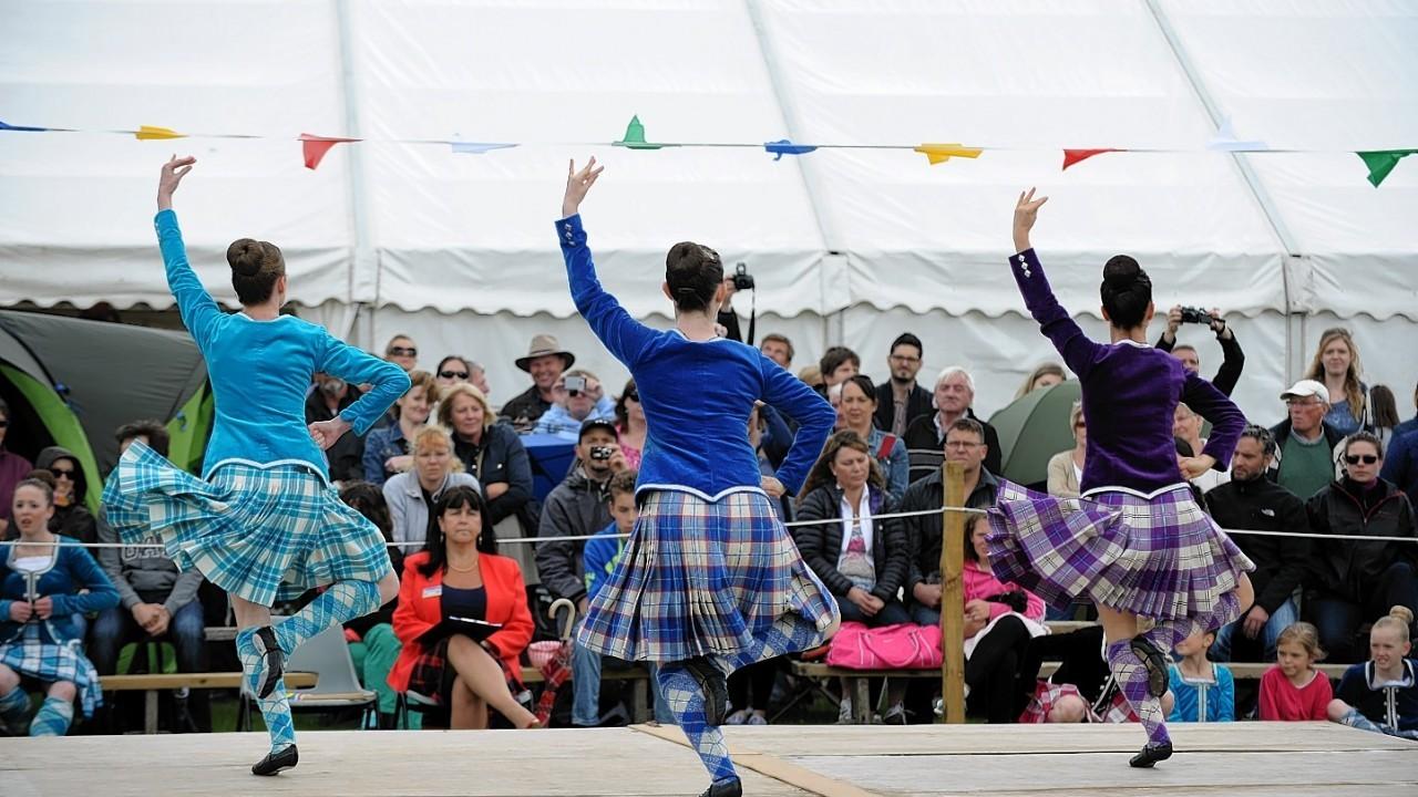 More Highland dancers. Credit: Kenny Elrick.