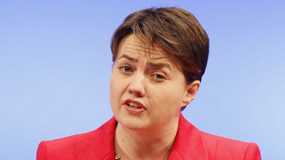 Leader of the Scottish Conservatives Ruth Davidson has issued an appeal to disgruntled Labour and Liberal Democrat supporters.
