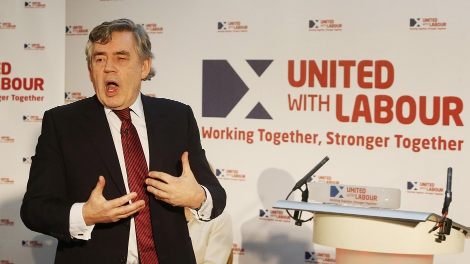 Gordon Brown has dismissed SNP calls for an oil fund,
