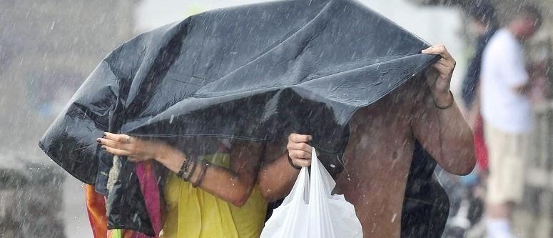 Heavy rain cancelled  Aboyne Marquee last night