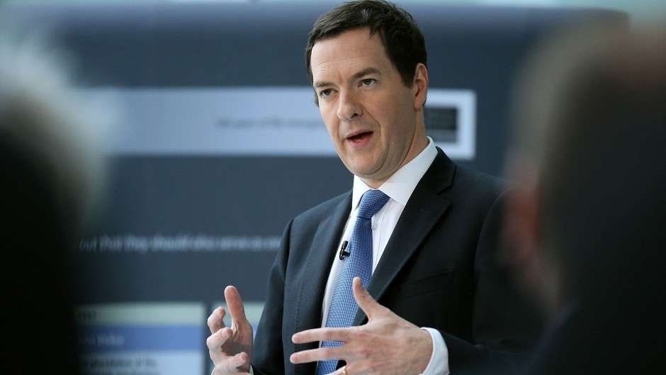 George Osborne has insisted there will be no currency union with an independent Scotland