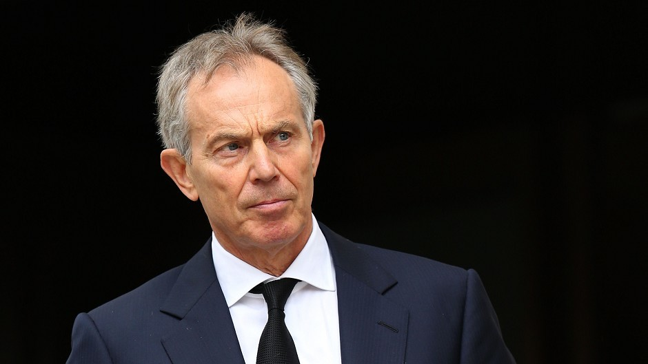 "Tony Blair rejected arguments that Iraq would be more peaceful today if the west had never intervened as ""bizarre"""
