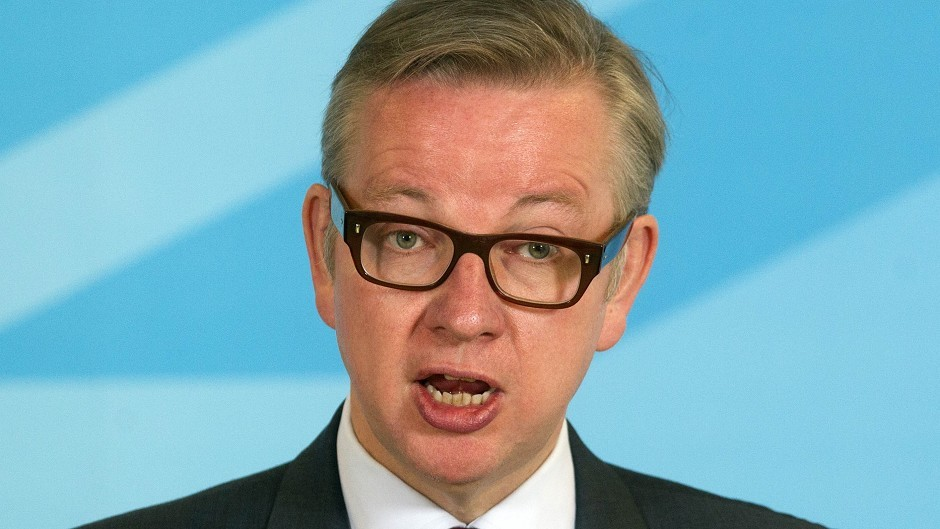 Michael Gove has denied that he was considering his position in the Cabinet