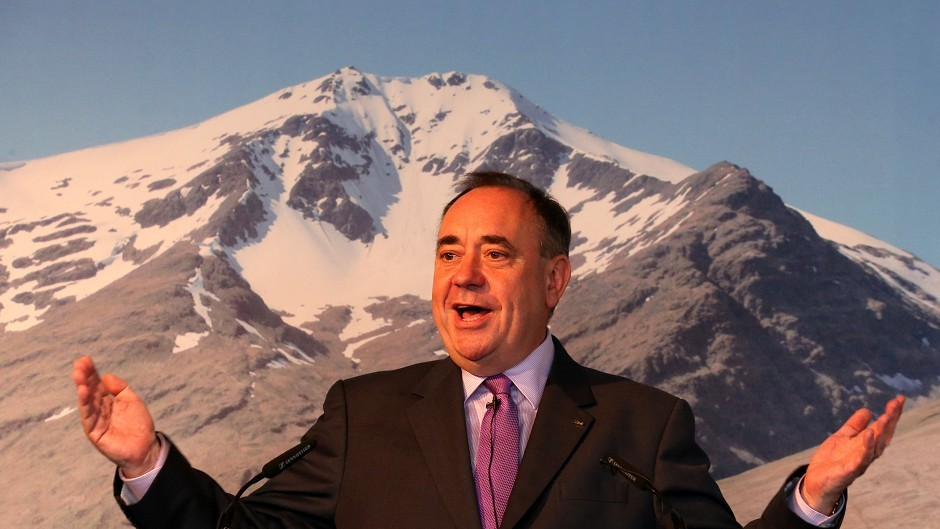 Alex Salmond is looking to convince younger voters