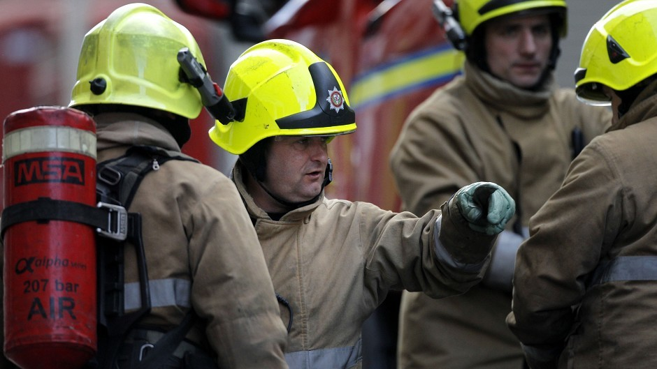 Firefighters have been called to Marischal Square