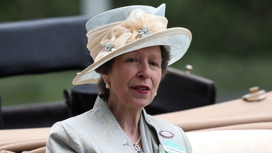 Princess Anne officially opened a new extension at Shetland College