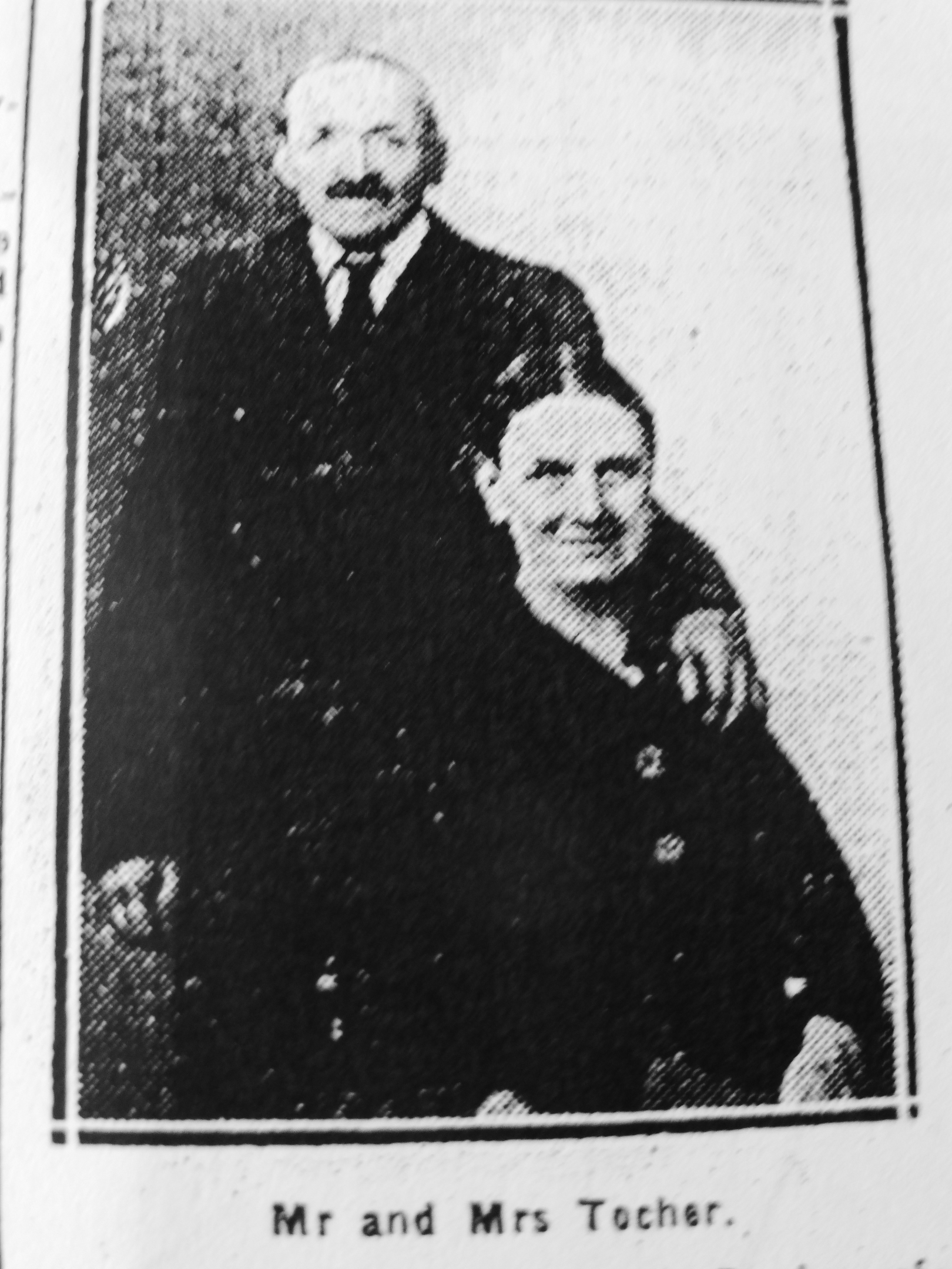 Peter and Elspet Tocher