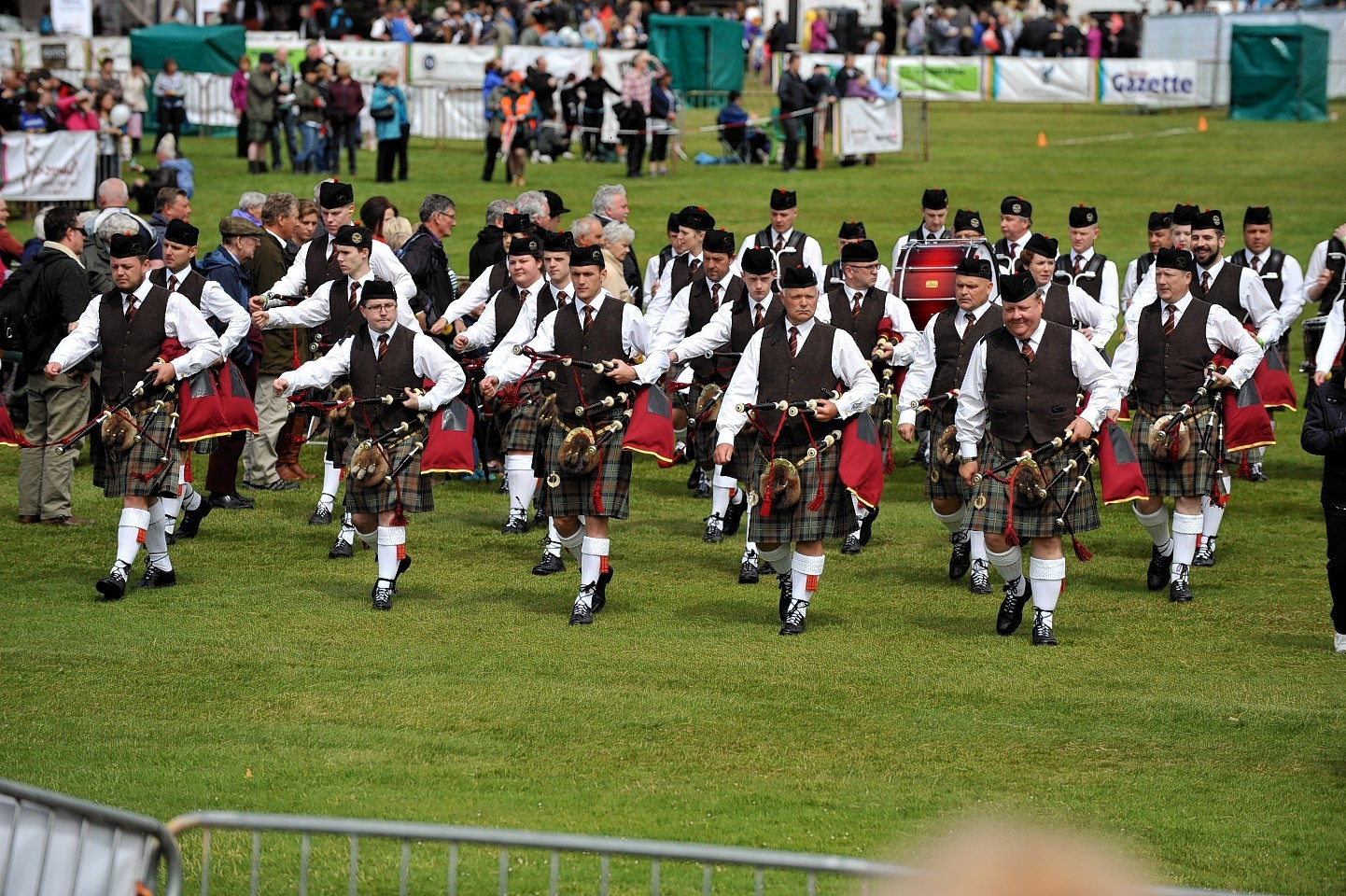 Piping Hot Forres - Pipe Band Championships at Grant Park, Forres.