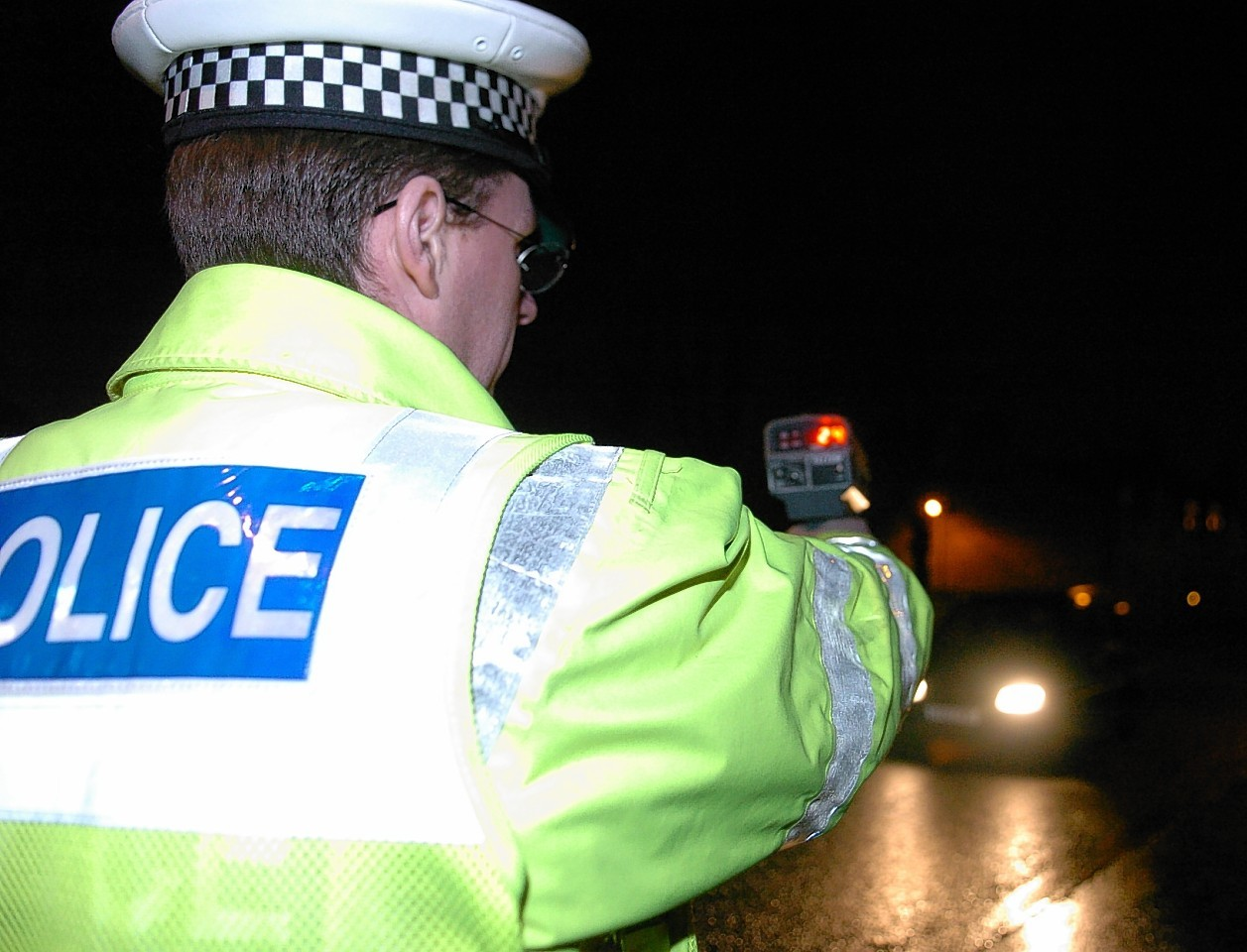 Five were charged for driving at speeds higher than 100mph on the A90