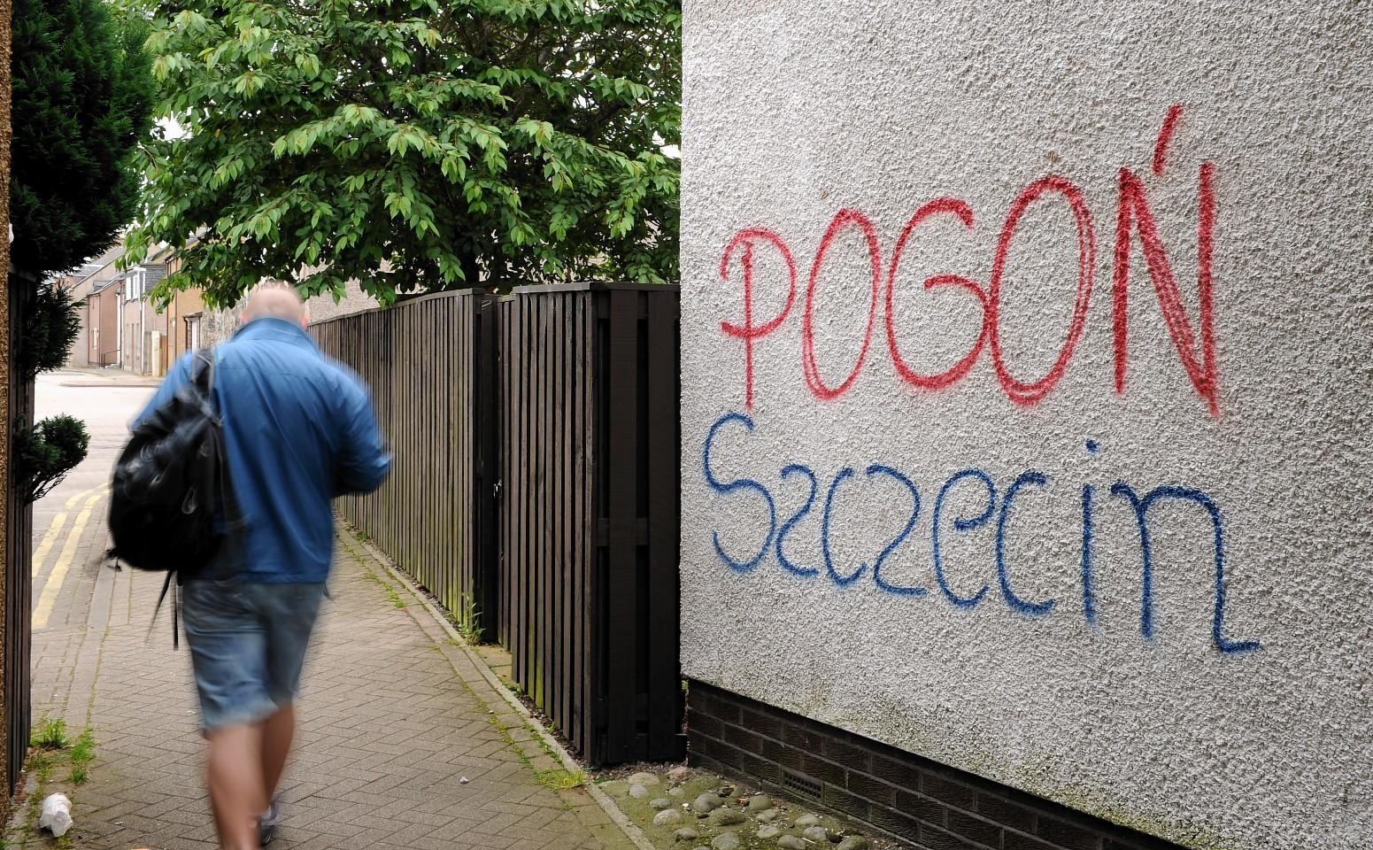 Polish vandalism has angered local residents