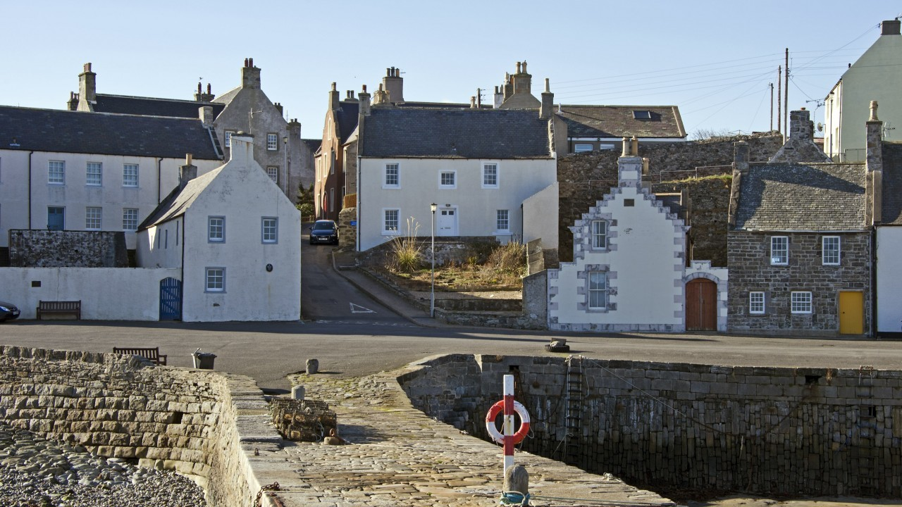 Locator of Portsoy