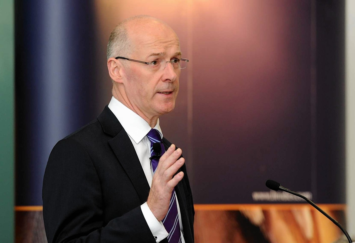 MSP Swinney, cabinet secretary for Finance, Employment and Sustainable Growth, states the case for independence