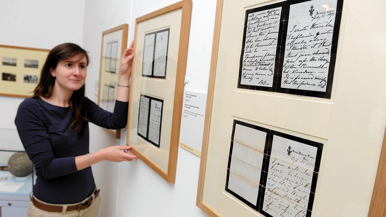 Exhibition curator, Jenny Brown
