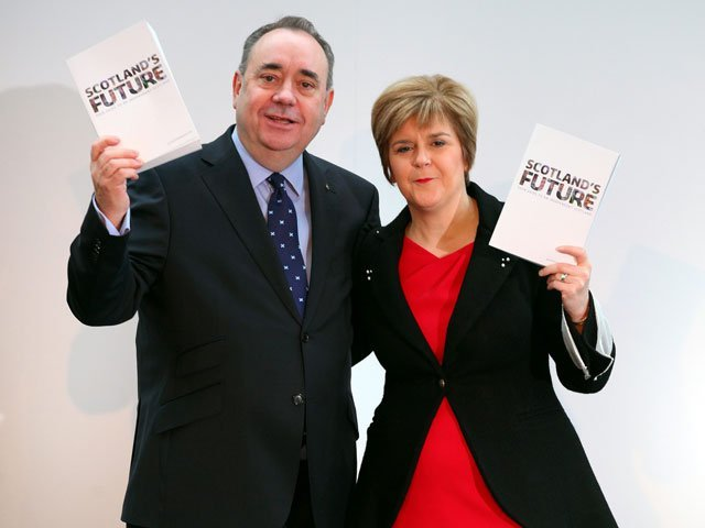 First Minister Alex Salmond  and his deputy Nicola Sturgeon have enjoyed a political partnership for 10 years.