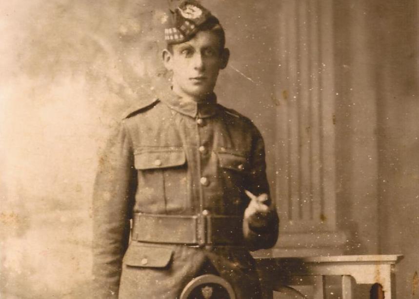Alexander Cruickshank, 1st Battalion
